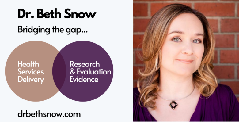 Dr Beth Snow's Blog