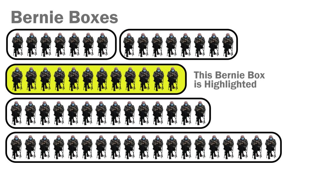 Adobe XD Icon Array Illustration Bernie Boxes