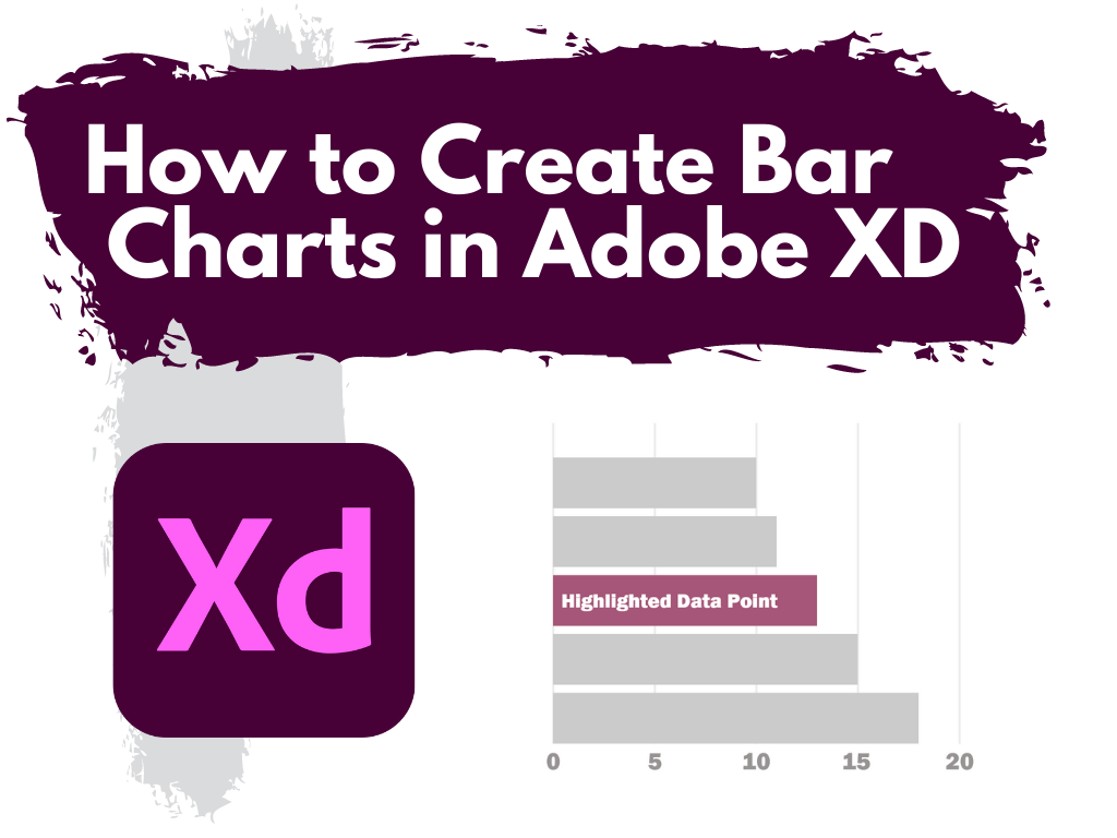 How to Create Bar Charts in Adobe XD featured image.
