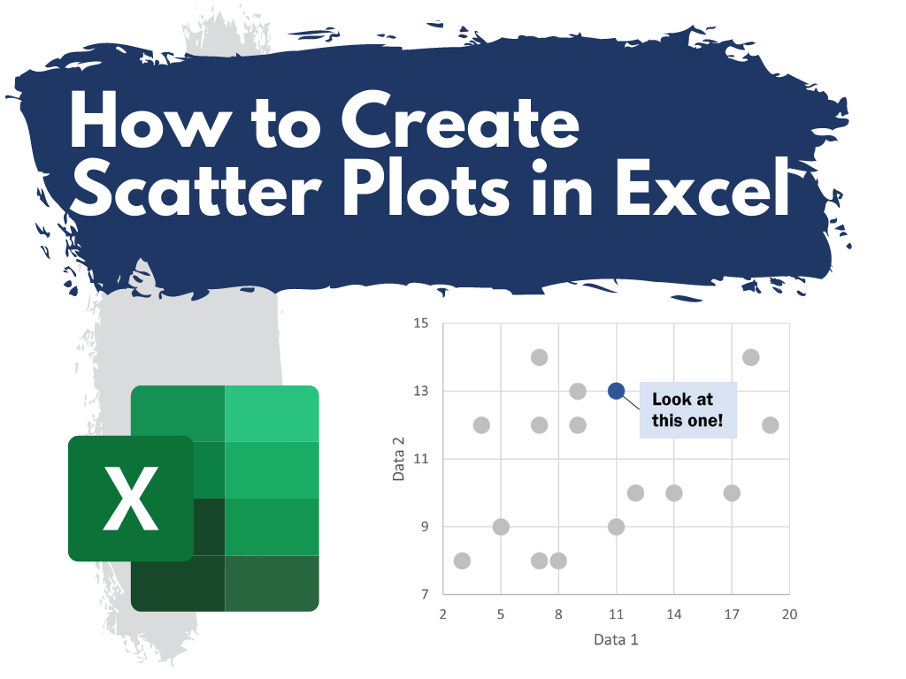 How to Create Scatter Plots in Excel