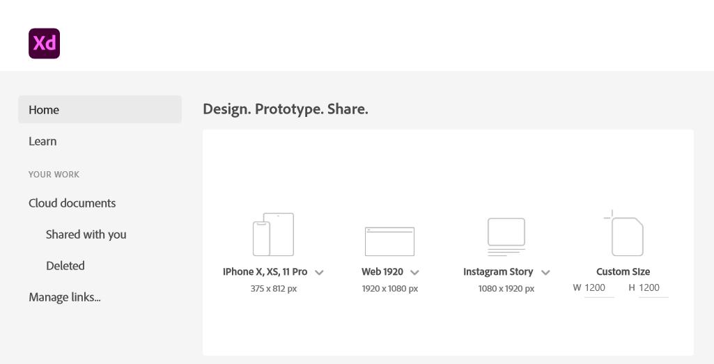 Adobe XD Icon Array Illustration How To 1