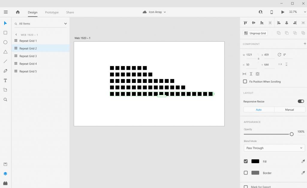 Adobe XD Icon Array Illustration How To 5