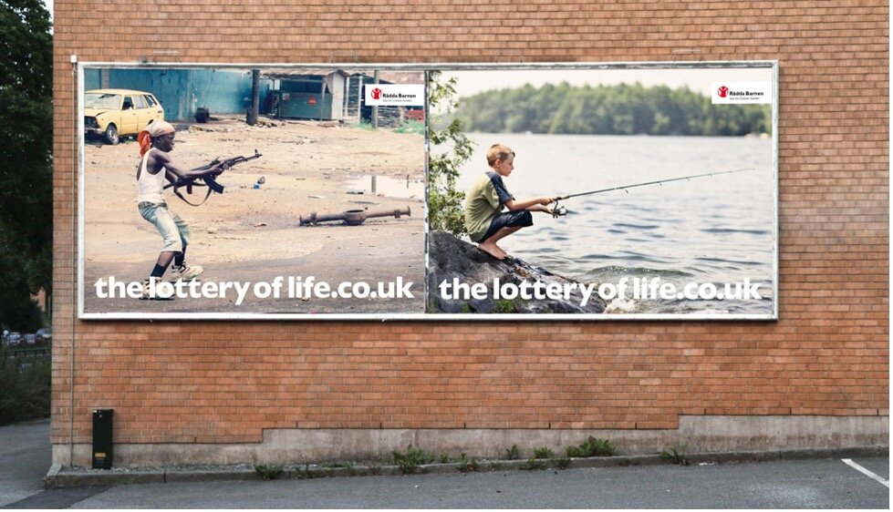 Save The Children - Lottery of Life Campaign (Image 1)