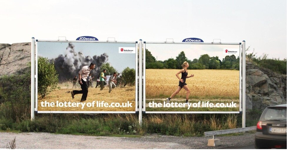Save The Children - Lottery of Life Campaign (Image 2)