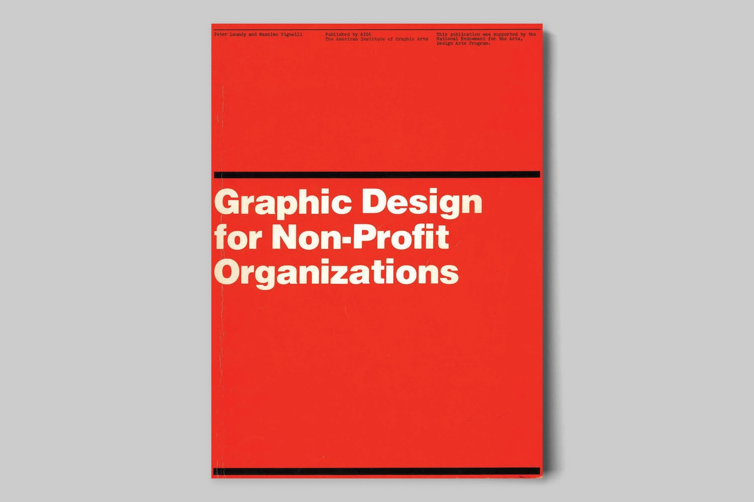 rationale resources vignelli non-profit organizations manual cover