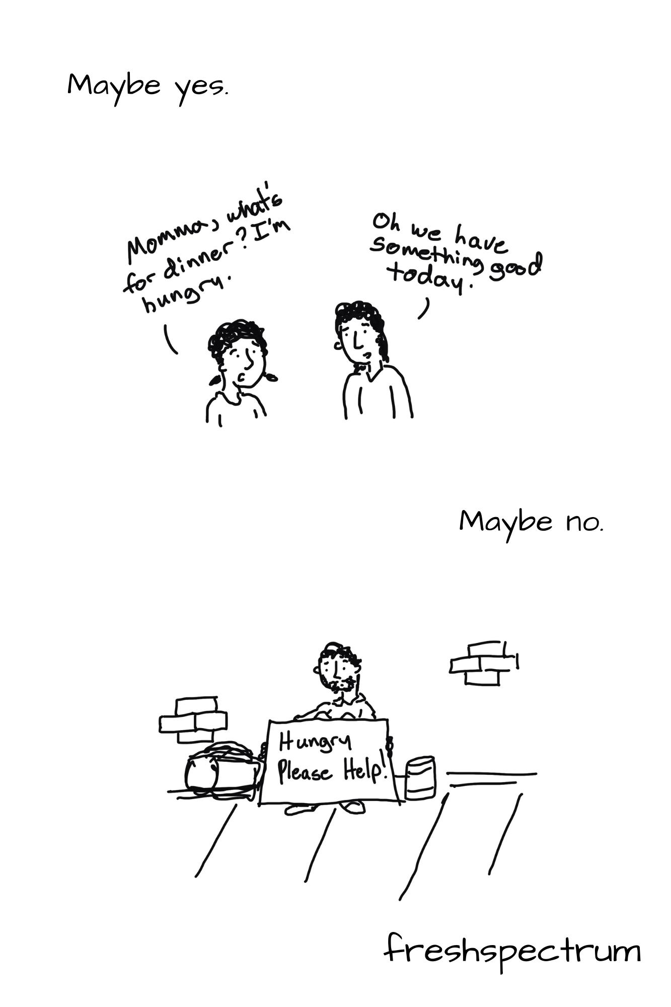 Shrodinger's Outcome Graphic Novella by Chris Lysy of freshspectrum.com.  Illustration 5.