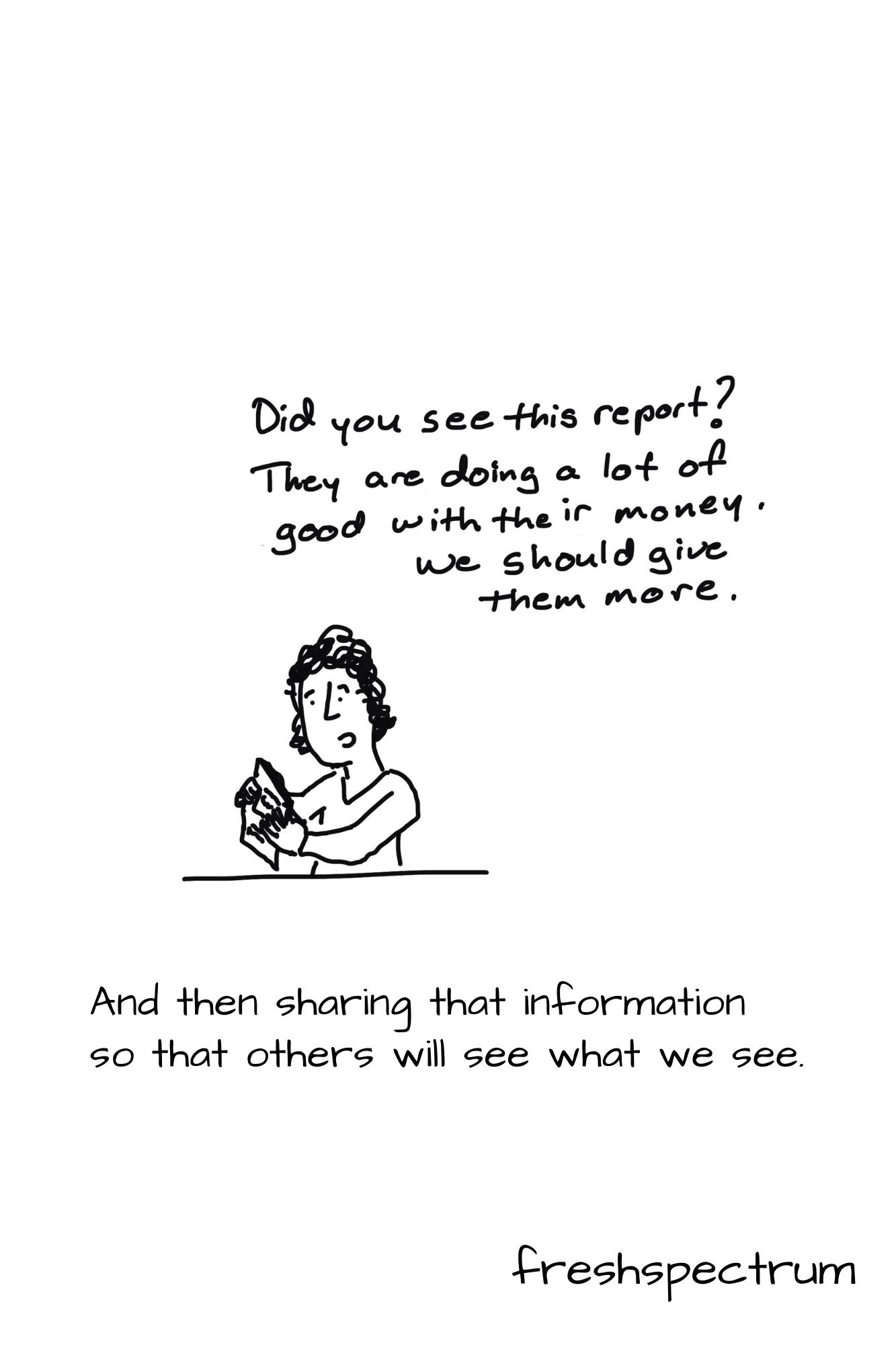 Shrodinger's Outcome Graphic Novella by Chris Lysy of freshspectrum.com.  Illustration 16.