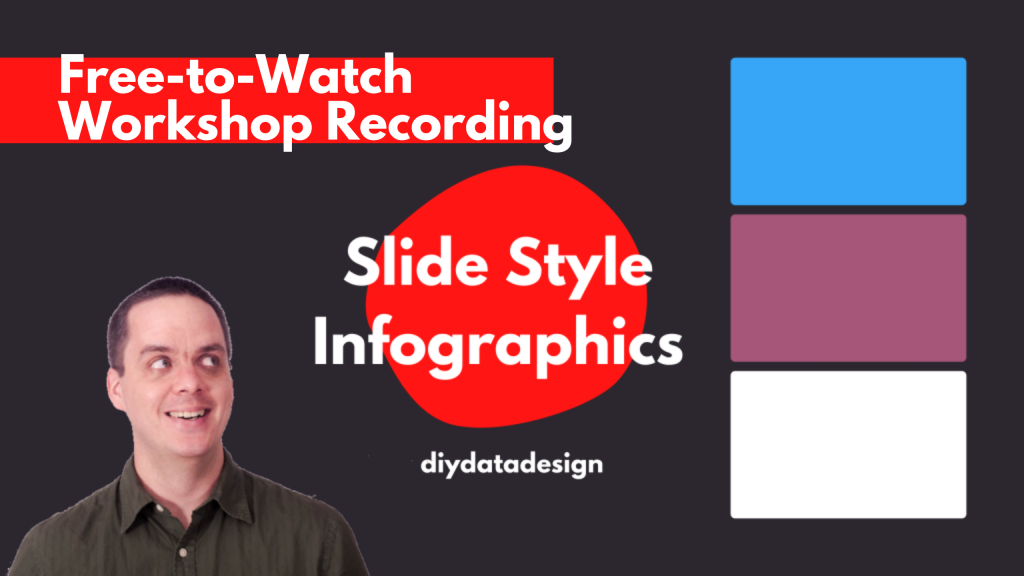 Free-to-Watch Workshop Recording. Slide Style Infographics. Featured Image.